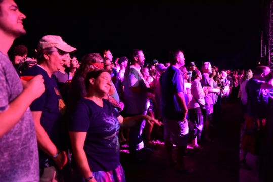 Crowds turned out for the first-ever Smoky Run Music Festival.