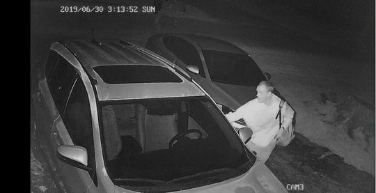 The Richland County Sheriff's Office is asking for the public's help in identifying two men accused of breaking into cars and buildings this past weekend.