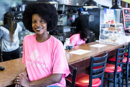 Owner Danielle Johnson has reopened The Waffle Iron at 4969 Park Ave. After a fire at the original location in Collierville, The Waffle Iron has reopened in East Memphis. The restaurant is known for its sweet potato pancakes, waffles Benedict and Southwestern chicken and waffles.