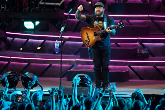 Zac Brown Band headlines the American Family Insurance Amphitheater on June 30, 2019.