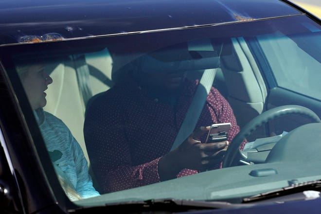 As of Monday, police in Illinois can pull over any driver they see with their hands on a cellphone.