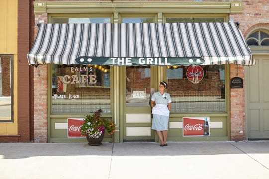 A meal or slice of pie at the Palms Grill Café in Atlanta, Ill., is like stepping back in time.