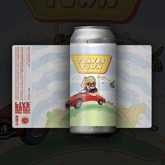 Eagle Park releases Flavor Town on Wednesday, which is also National Independent Beer Run Day.