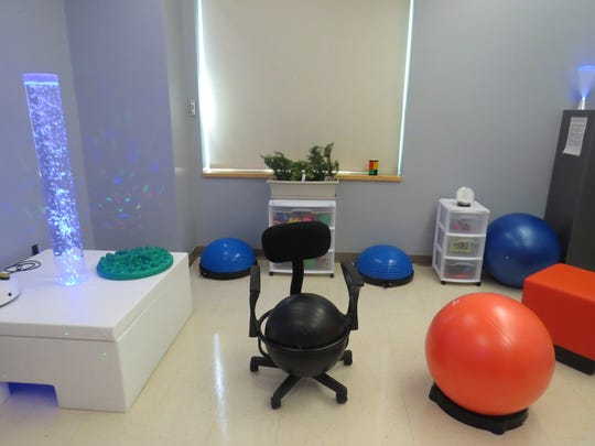 Greystone Park Psychiatric Hospital in Parsippany has opened a new sensory room to provide therapeutic relief for patients struggling with sensory deprivation disorder and other mental-health issues.