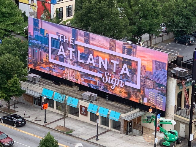 """""""The Atlanta Sign"""" was acquired by Nashville-based advertising company Blackbird Media."""
