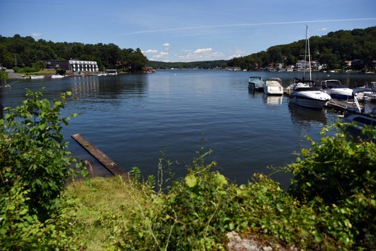 A quiet Lake Hopatcong on Monday, July 1, 2019, in Hopatcong, NJ.