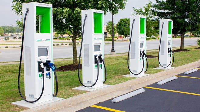 Electric vehicle charging stations are now open at your Deming Walmart, 1021 E. Pine St.