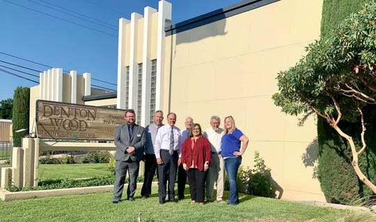 Denton-Wood Funeral Services was honored by Keep Carlsbad Beautiful.