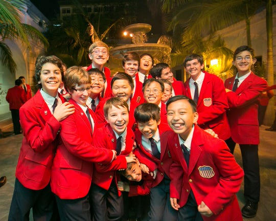 The All American Boys Chorus will perform July 9 at the Spencer Theater.