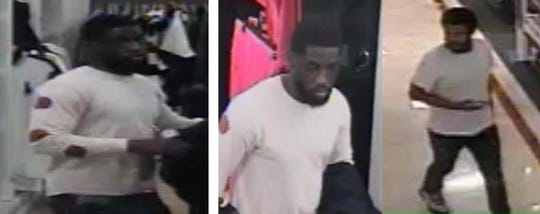 Bloomfield Township police are looking for this man they say illegally opened a store account.