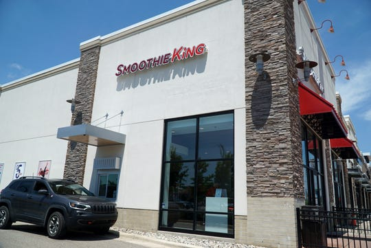 Smoothie King at 11003 Middle Belt Road in Livonia. The drink-as-a-meal company is looking to expand further in the Detroit suburbs and enjoys locations like Livonia's - with a drive-thru possibility.