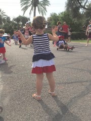 I love a parade, especially at the fourth of July.