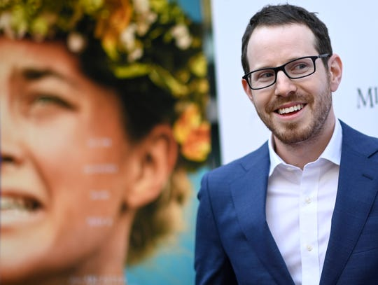 """I see this one as more of a fairy tale,"" filmmaker Ari Aster says of ""Midsommar."""