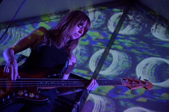 Ringo Deathstarr perform during the Levitation Showcase as part of the 2019 SXSW Conference and Festivals at Hotel Vegas on March 14, 2019 in Austin.