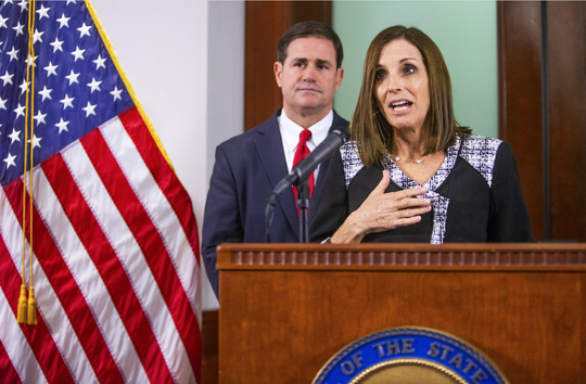 Doug Ducey, Martha McSally