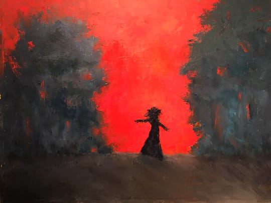 """""""Running Away"""" by Ann Moring is an example of the work featured in the new Tivoli Arts Gallery exhibit """"Freedom,"""" opening July 5."""