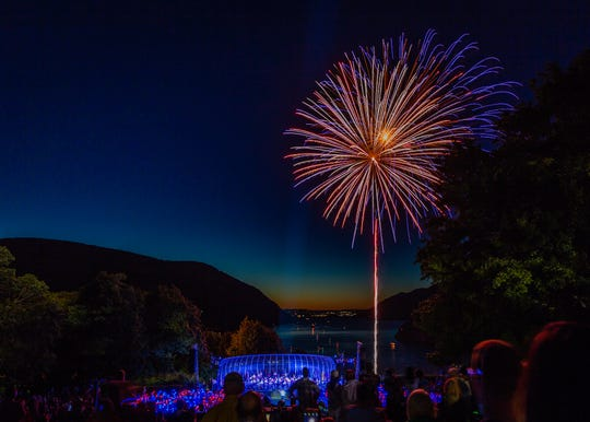 The West Point Band will present its annual Independence Day Celebration with fireworks July 6.