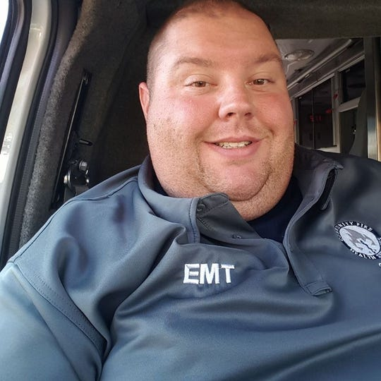 Nick Aldinger, an EMT and volunteer firefighter for Eagle Fire Co. in Mount Wolf, died Friday July 5, 2019, after battling serious medical issues in the hospital. He was 36.