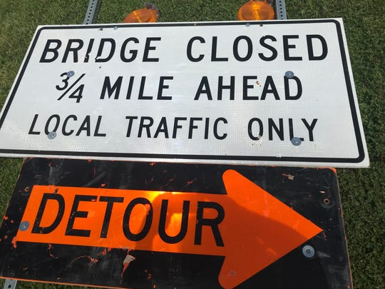 The Route 259 lift bridge over the Erie Canal is slated to close for repairs on July 9.