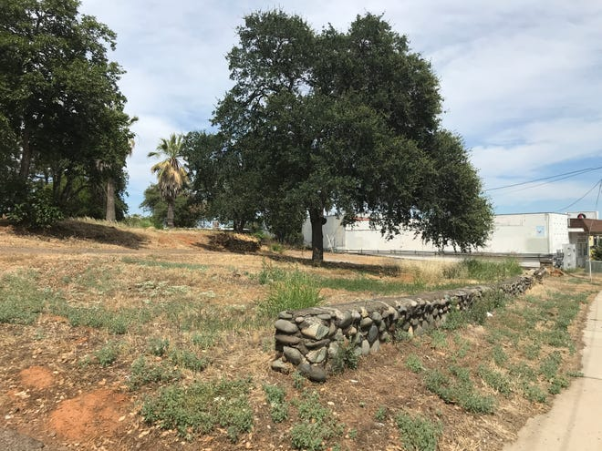 This is the vacant property on Eureka Way in west Redding where a family-owned development company wants to build a gas station and small retail center.