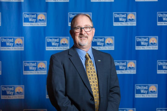 Greg Burris is president and CEO of the United Way of the Ozarks