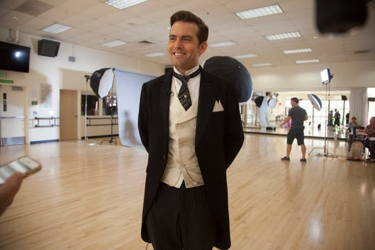 """Nick Tubbs, who is cast as Monty Navarro in""""A Gentleman's Guide to Love and Murder,"""" discusses the perks and demands of working a busy Tuacahn season."""