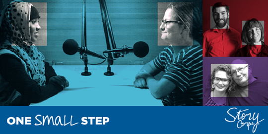 "Utah Public Radio representatives say they hope the ""One Small Step"" project will help individuals feel closer to one another."