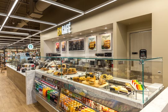 The café at Barnes & Noble in Brandywine Hundred features a brand-new look and offers a wide selection of Starbucks beverages, including nitro coffee, in addition to fresh baked goods, savory sandwiches, flatbreads, quiches and a soup of the day. Healthy grab-and-go snacks are also available.