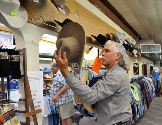 Longtime Browse Shop customer Floyd Killen said he will miss the place after learning that the store will be closing after 51 years of serving western wear to Wichita Falls and surrounding area. Killen said he has been shopping at the Browse Shop since he was 16.