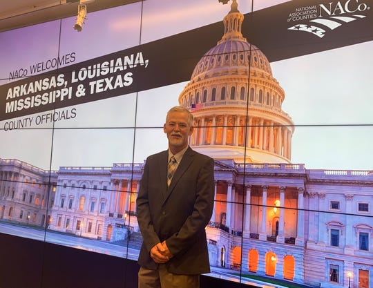 Wichita County Commissioner Mark Beauchamp, Precinct 1, attended a meeting June 25 at the Office of Intergovernmental Affairs in Washington D.C. The group discussed how federal-level actions would affect the local areas of various Southern states.