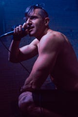 An original member of White Jet Heroes, singer Chris Breffitt goes all out doing Red Hot Chili Peppers. The group will perform at 9 p.m. Saturday at the Half Pint Taproom & Restoration Hall with Downtown Royalty