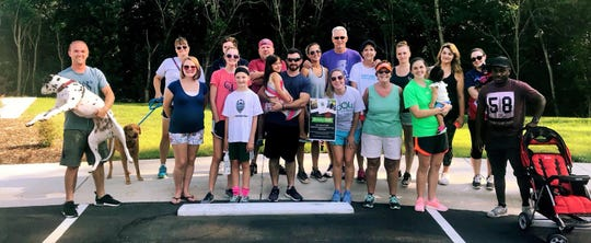 "The York County, S.C. community group Connect to Hope hosted this ""sober"" walk in August 2018 and holds other sober events for people in recovery, along with friends and family members."