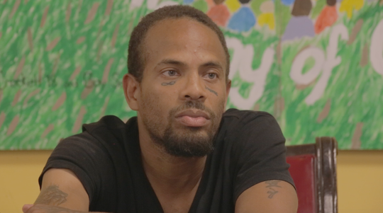Lothorio Ross, 38, says his alcoholism led to his homelessness.