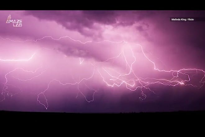 This isn't your average lightning. Spider lightning is the creepy, crawly version that'll send shivers down your spine.