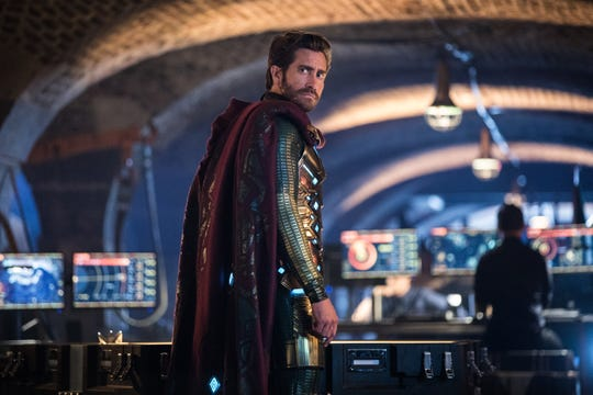 "Jake Gyllenhaal makes a turn, playing Mysterio in ""Spider-Man: Far From Home."""