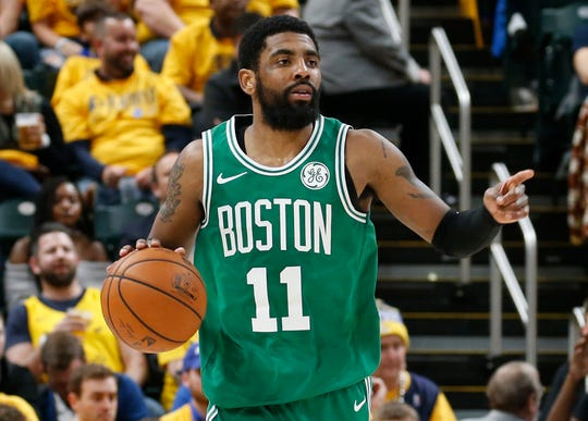 Kyrie Irving will play for his third team in 2019-20.