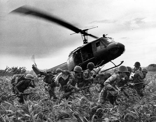 The Vietnam war was one of the most divisive periods in American history and veterans today remember the cold welcome they received when they returned from combat.