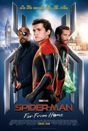 """Spider-man: Far From Home"" opens in Abilene"