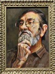 A portrait of Clint Hamilton by Tootsie NIchols, 2003.