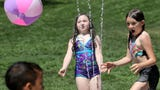 New water feature at McCormick Village Park in Port Orchard makes a splash with youngsters in June 2019