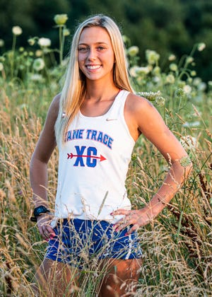 Zane Trace junior Hannah Kerr looks to build off of her cross country success from the last two seasons after competing at the state level in 2017 and 2018.