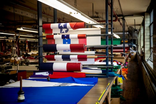 The National Flag Company has been making flags for 150 years.