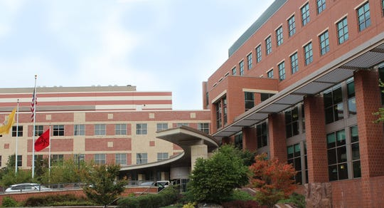 The Rutgers Cancer Institute, located in New Brunswick.