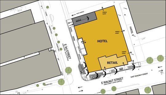 A 112-room Element by Westin hotel is planned for the East Village.