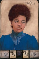 Ida B. Wells was one of the most famous suffragists and a founder of the NAACP. Her portrait is on display at the State Capitol.