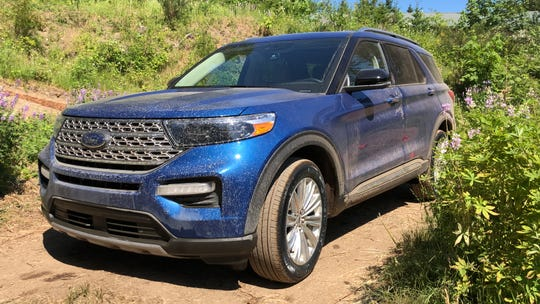 The 2020 Ford Explorer's body is nearly all steel, but engineers used a variety of materials under the skin to save about 200 pounds versus the previous model.