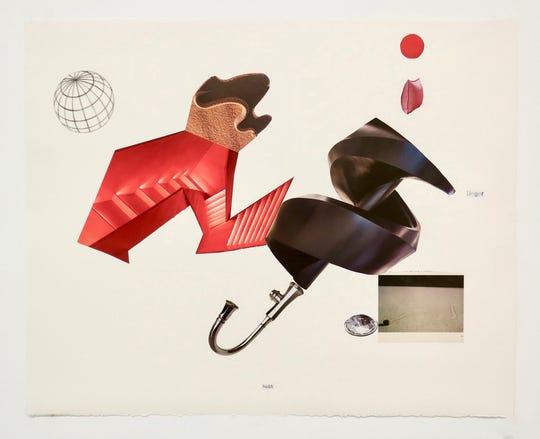 "Timothy van Laar's ""Arid Lands V"" at Detroit's Simone DeSousa Gallery."