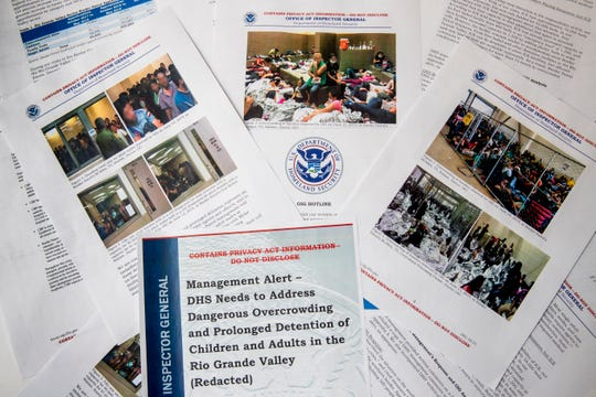 "The report released Tuesday by the Department of Homeland Security's Office of Inspector General warns that facilities in South Texas' Rio Grande Valley face ""serious overcrowding"" and require ""immediate attention."""
