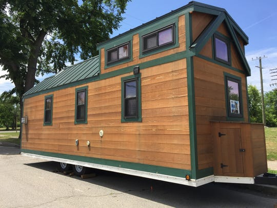Cass Community Social Services in Detroit is raffling off this tiny home on Monday. Tickets are $50.