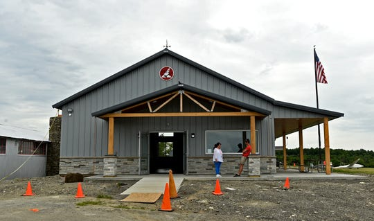 The newly renovated Flight Center at Harris Hill Soaring Corp. in Elmira, shown June 24, 2019.